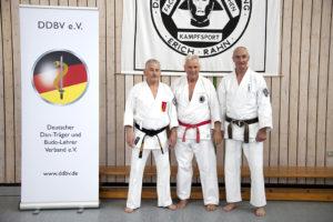 Die Referenten (v. links nach rechts): Lothar Sieber, Dieter Lösgen und Gerhard Jung